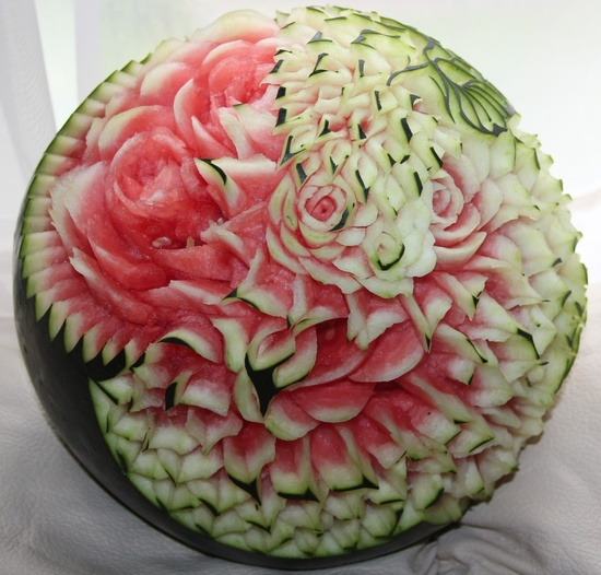 Incredible Food Art by 'The Melon Man' David Loh