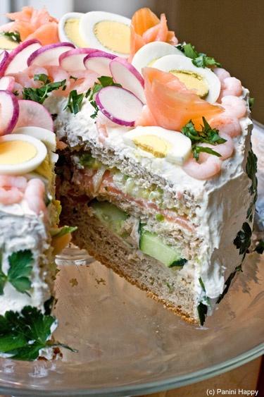 Swedish Sandwich Cake...delicious!